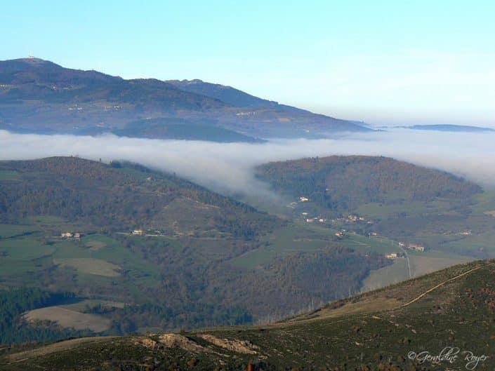 Brouillard sur St Marcel