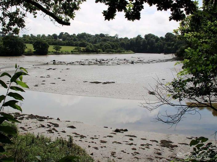 Marée basse proche de Tréguier