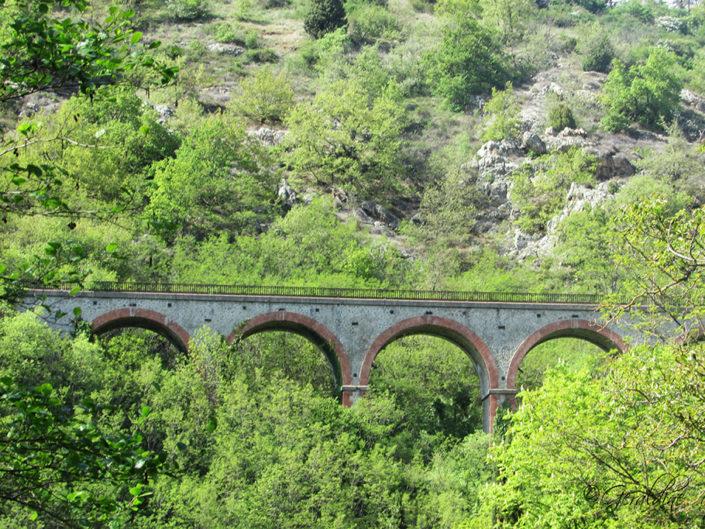 Viaduc ancienne voie ferrée Thorrenc