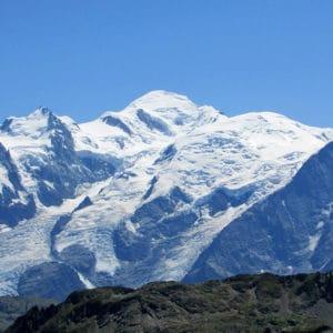 Le majestueux Mont-Blanc