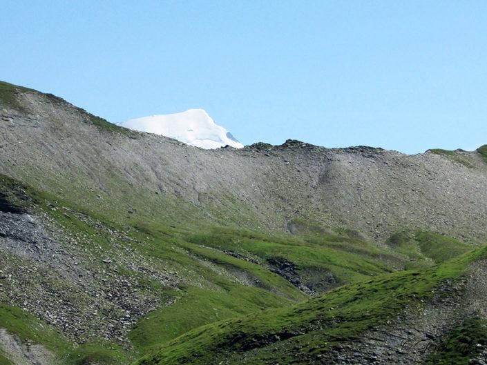 Col d'Anterne et sommet du Mont-Blanc