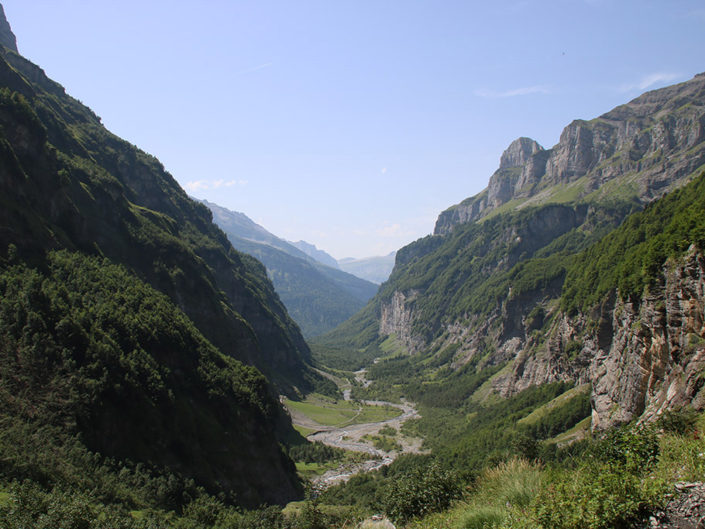 Vallée du Cirque de Sixt Fer à Cheval