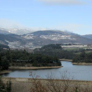 Barrage du Ternay en hiver