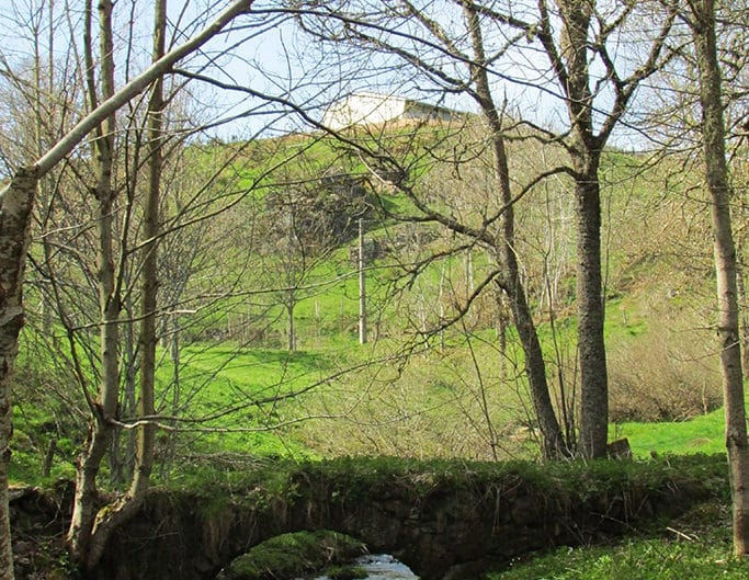 Petit pont à Effangeas