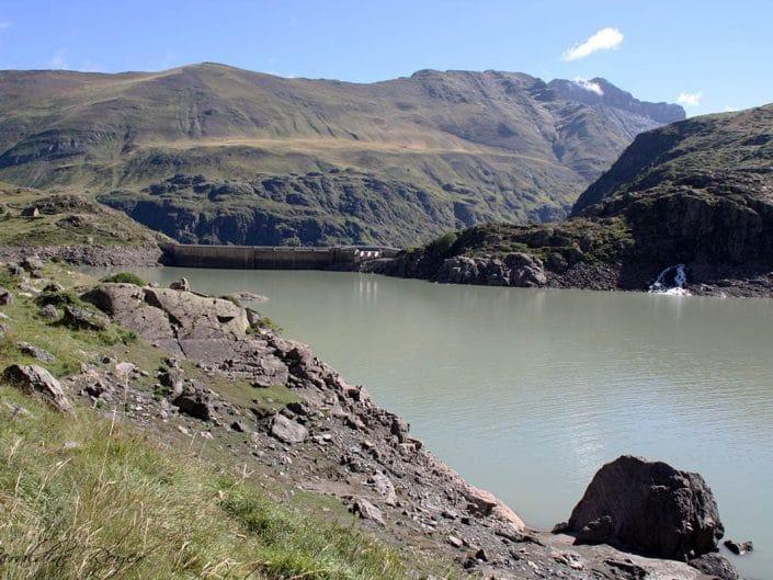 Barrage du lac des Gloriettes