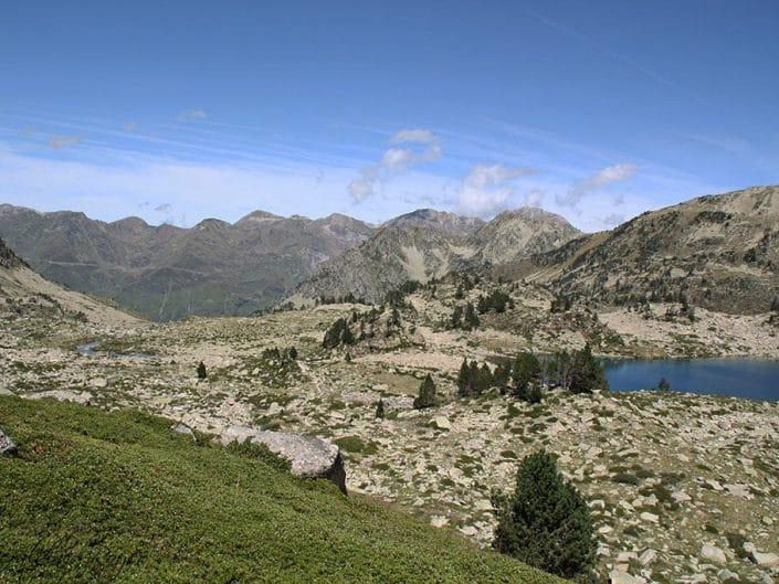 La vallée vue du lac Noir
