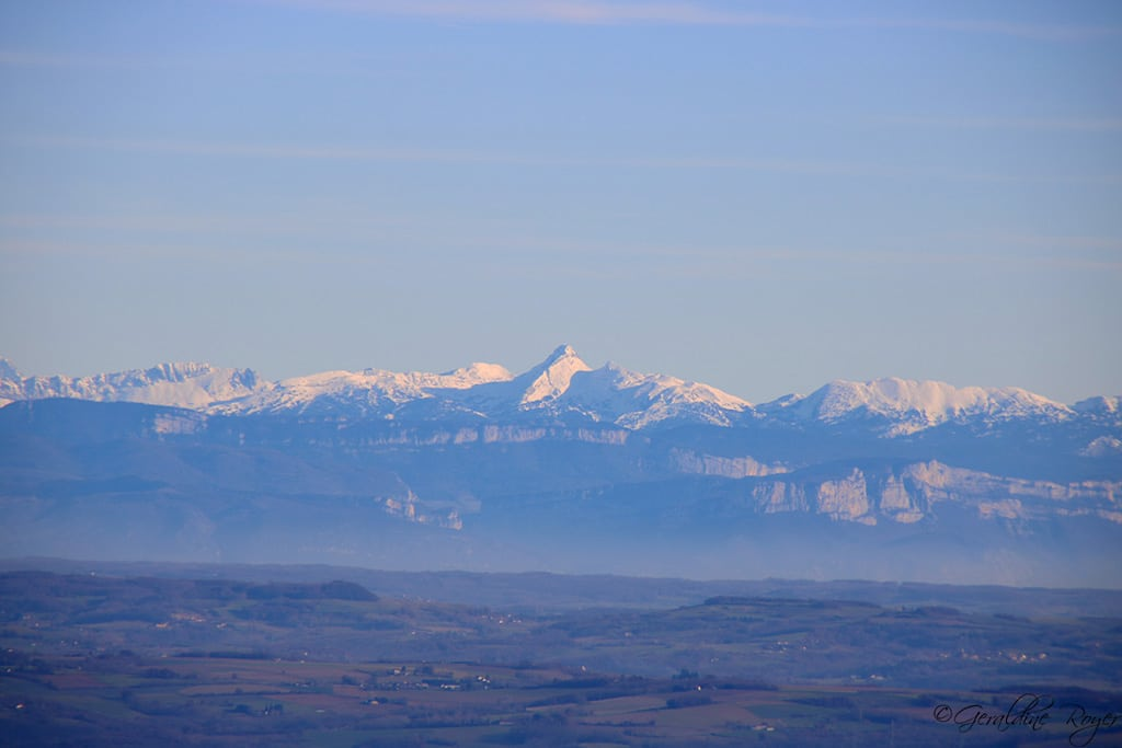 Chaîne des Alpes