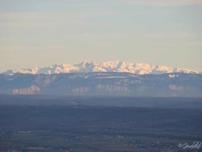 Le Vercors, Les Alpes