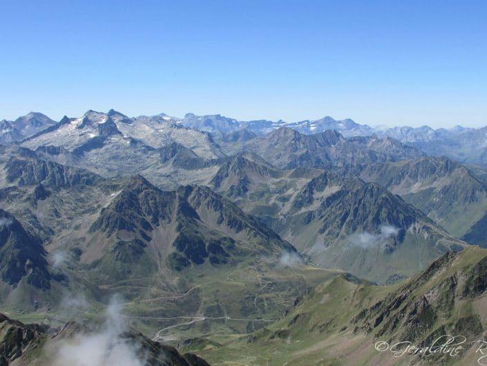 Vue du pic du Midi de Bigorre