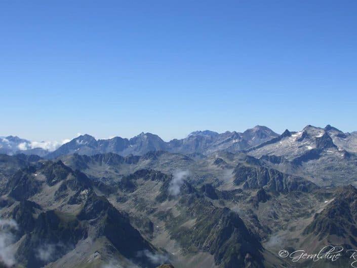 Sommets en face du Pic du Midi