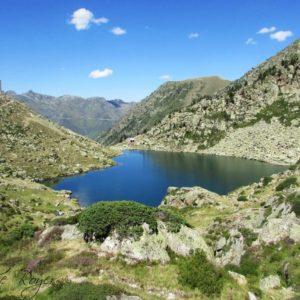 Lac de Glèrre et son refuge