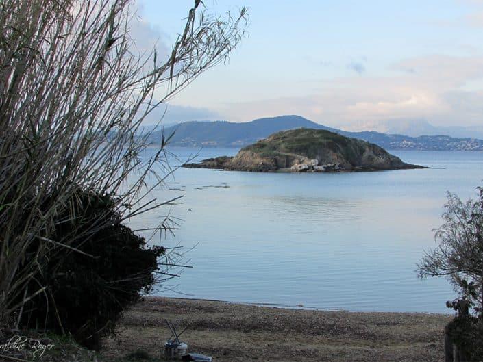 Une vue de la presqu'île de Giens