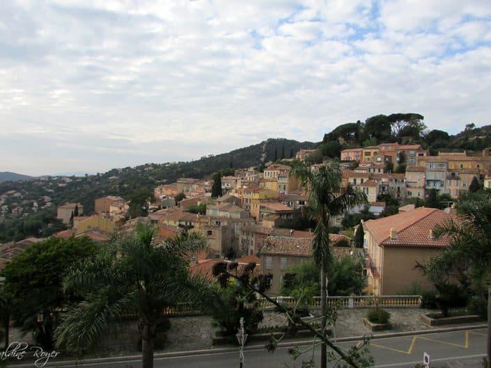vue du village de Borne-Les-Mimosas