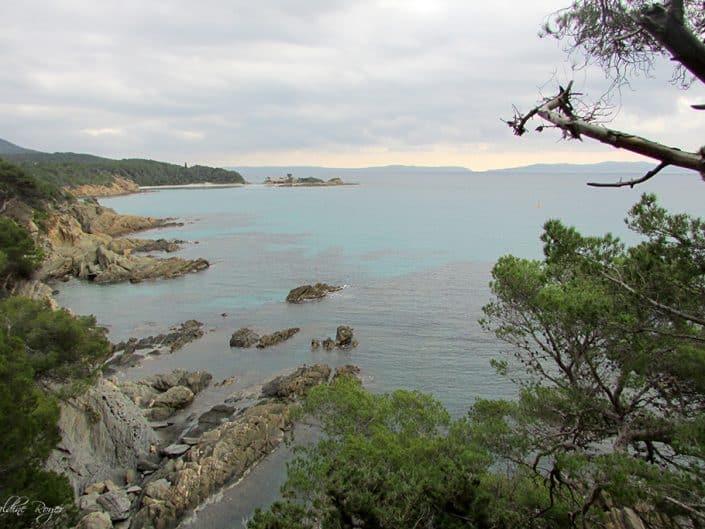 Une plage près du Fort Brégançon