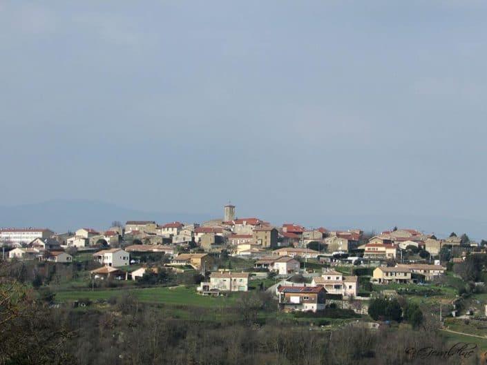 Le village d'Ardoix