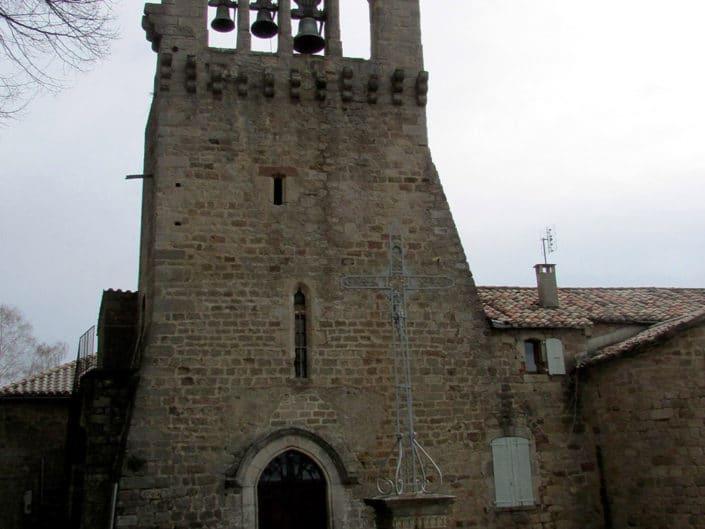 Eglise Romane de Saint Théofrède Faugères