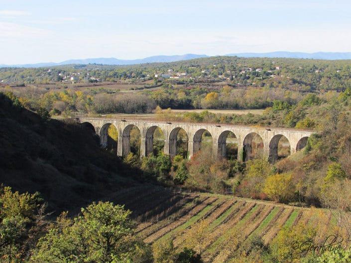 Viaduc des Louanes, côté Serre Bouchet