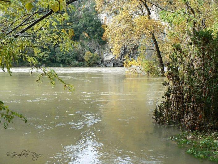 Crue Automnale de l'Ardèche