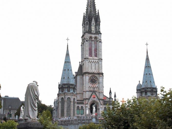 Basilique Notre Dame de Rosaire à Lourdes