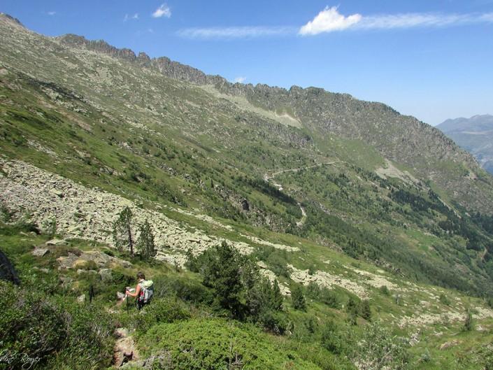 Descente vallée de Luz Saint Sauveur