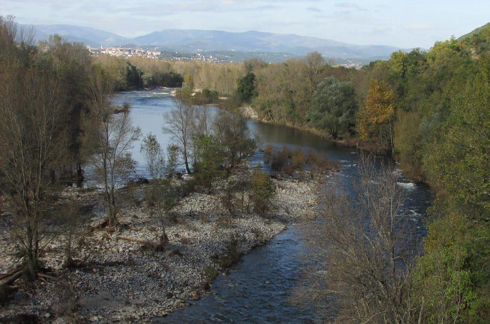 Le long de l'Ardèche