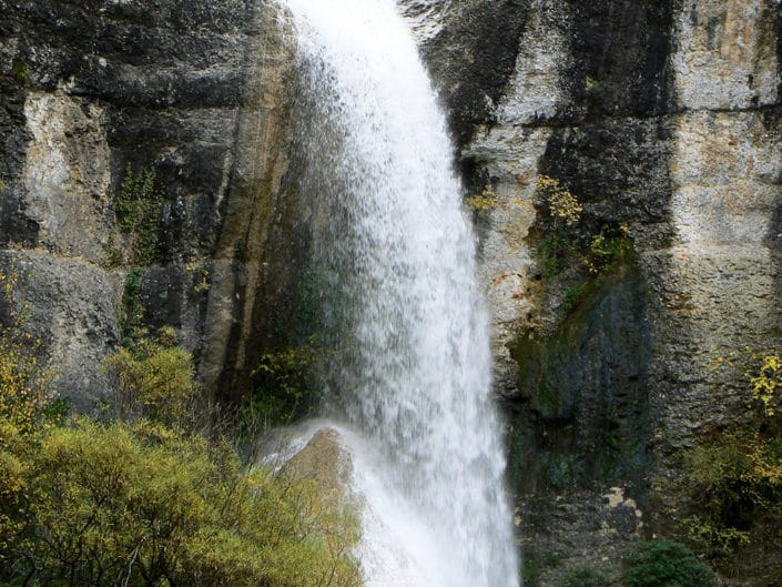 Cascade de Rochecolombe