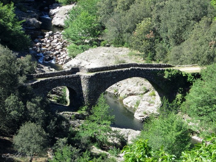 Pont du Rouge au dessus de la Drobie