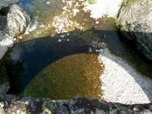 Reflet Pont du Diable à Thueyts