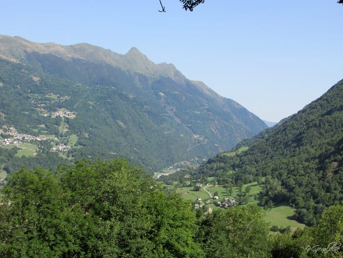 Vallée en direction de Barèges