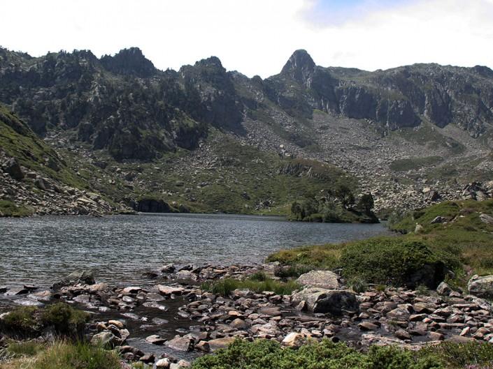 Le lac de Bastampe