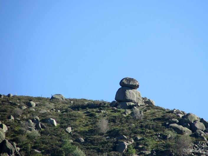 boules de granit à sablières