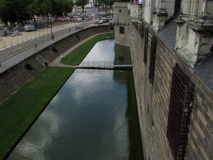 remparts du château des ducs de bretagne à nantes