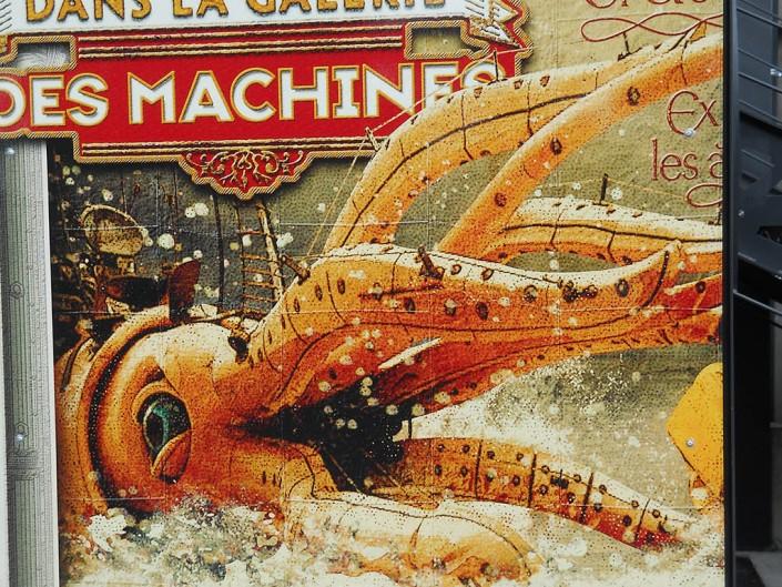 affiche du carrousel des machines de l'île